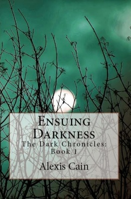 Ensuing Darkness (front cover)