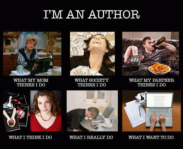 what authors do