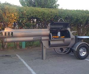 Guns and grilling!