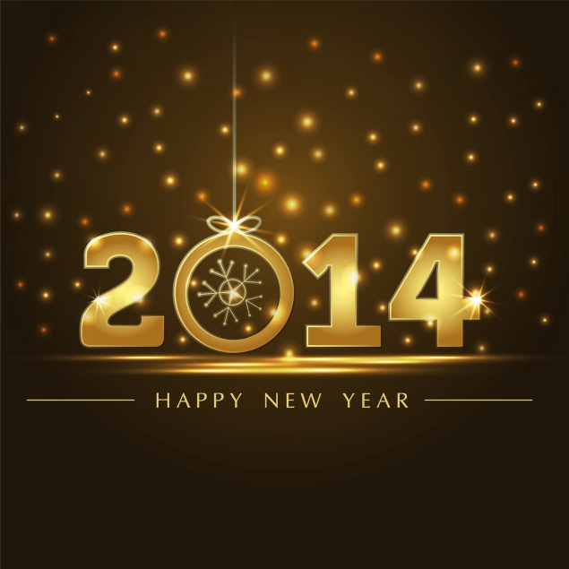 Happy-New-Year-2014-Gold-Background