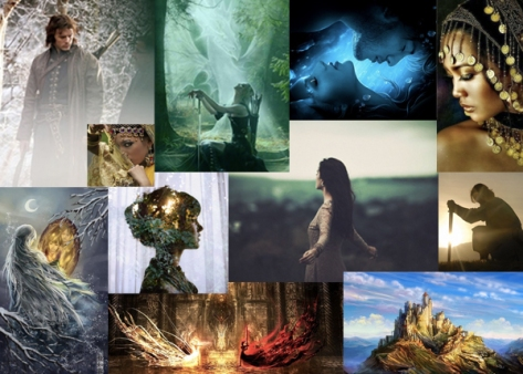 Dance of Dragons Mood Board